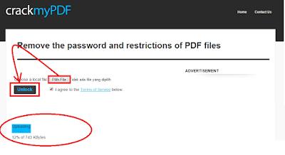 Cara Membuka file Pdf yang SECURED