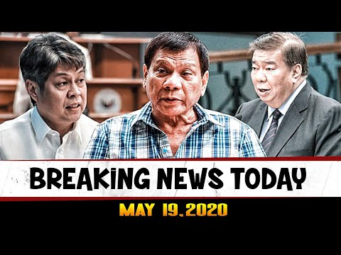 BREAKING NEWS TODAY MAY 19, 2020 PRES DUTERTE l ABS CBN l ATTY GADON l DRILON l KIKO l CAYETANO
