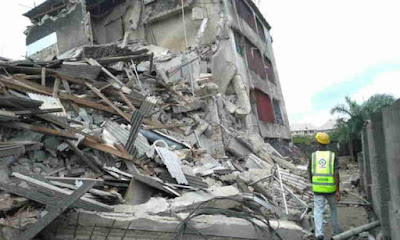 11 persons trapped in collapsed building