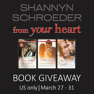 From Your Heart blitz giveaway graphic