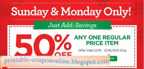 michaels printable coupon blogspot just
