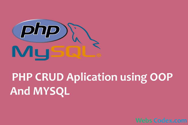 PHP CRUD Operations using PHP OOP and MYSQL PHP: CRUD (Add, Edit, Delete, View) Application using OOP (Object Oriented Programming)