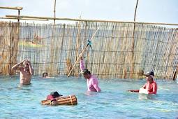 Thaher Hanubun Promosi Tradisi Wer Warat, Cara Menangkap Ikan di Kepulauan Kei