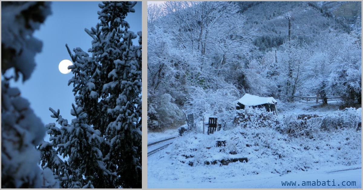 neige Vergons Alpes de Haute provence