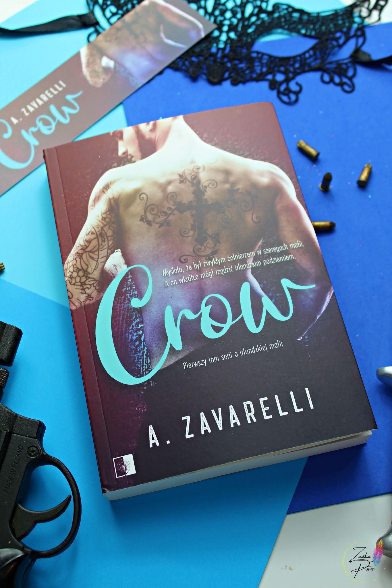 """A. Zavarelli """"Crow"""" - patronacka recenzja książki"""