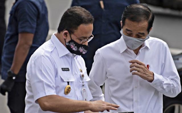 Jangan-Jangan? Jokowi Masih Gengsi Adopsi Cara Anies