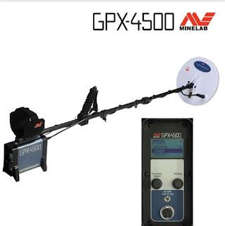 Minelab metal detectors gpx4500