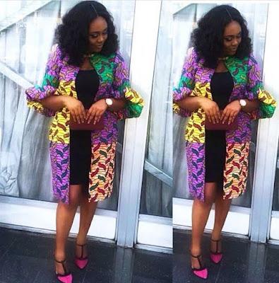 Latest Ankara Kimono Styles
