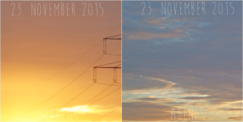 Blog + Fotografie by it's me! - Himmel am 23.11.2015