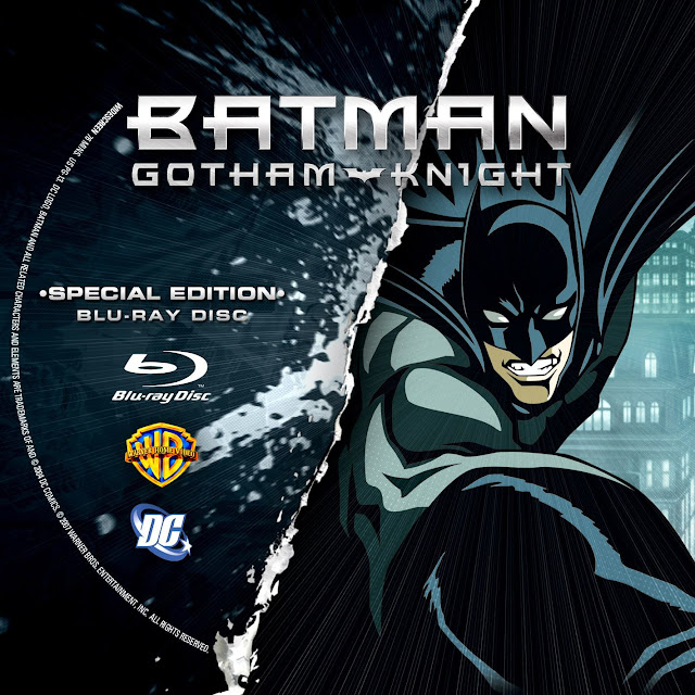 Label Bluray Batman Gotham Knight Special Edition