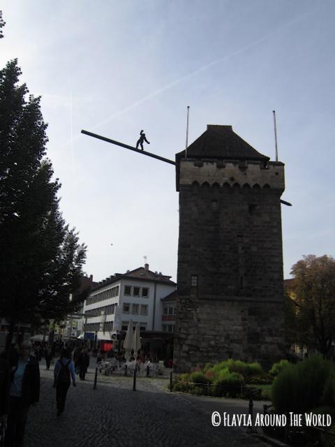 Puerta Schelztorturm en Esslingen