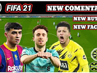 FIFA 21 Mobile Offline New Comentary TALK NAME & New Face Best Graphics