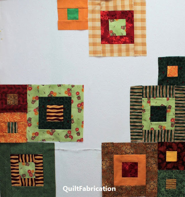 blocks for a Zen Garden quilt