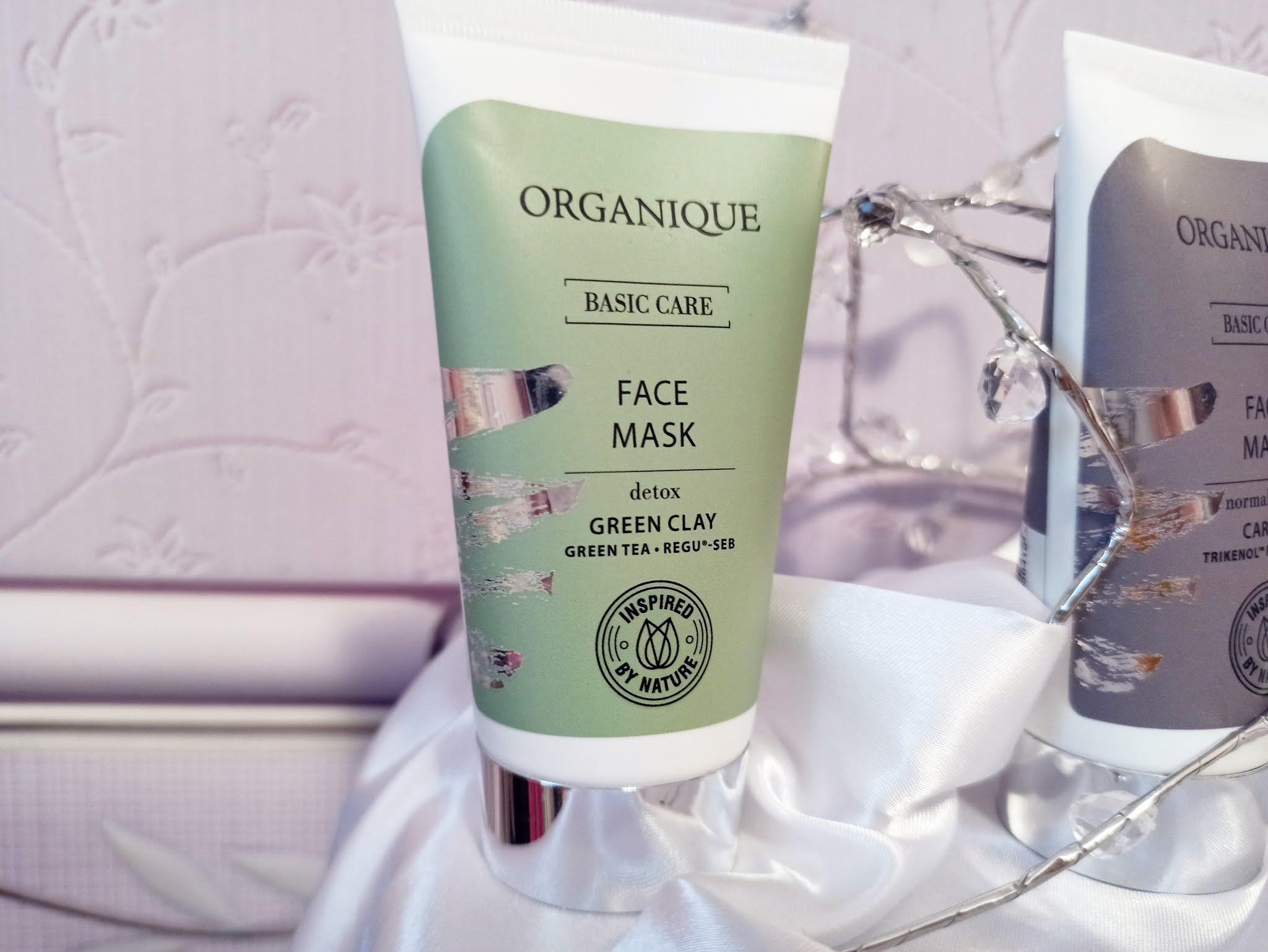 Detoksykująca maska do twarzy Basic Care Organique