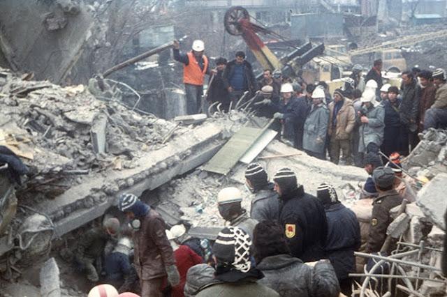 31 años del terremoto en Gyumri