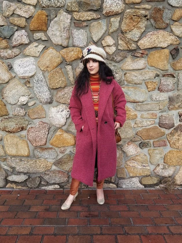 SHEIN Coats and Sweater Set
