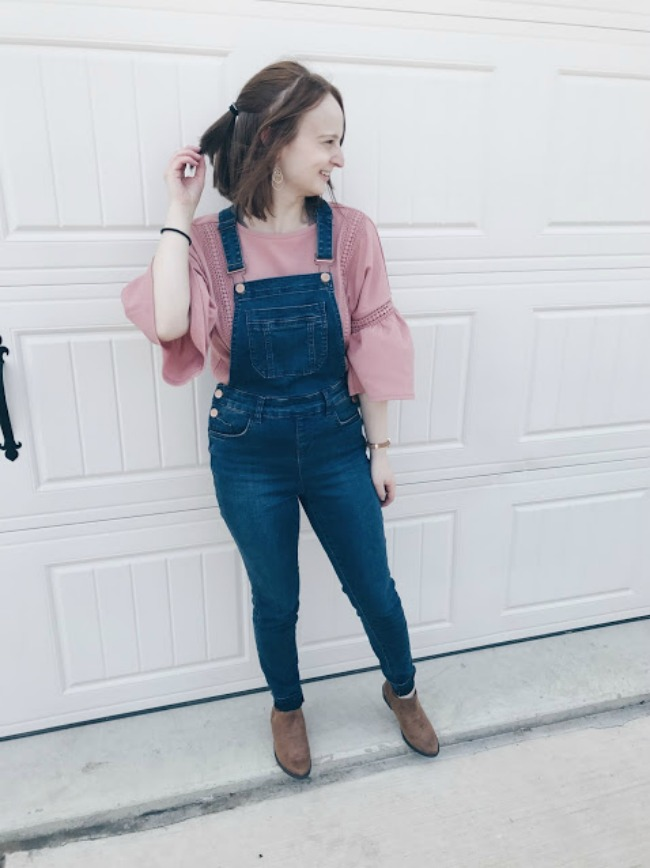 Overalls And Bell Sleeves