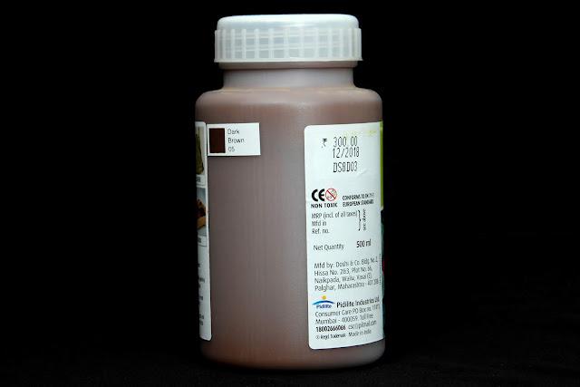 fevicryl fabric colour dark brown 05