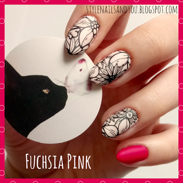 Fuchsia Pink | Born Pretty Nail Water Decals | Born Pretty Store Review