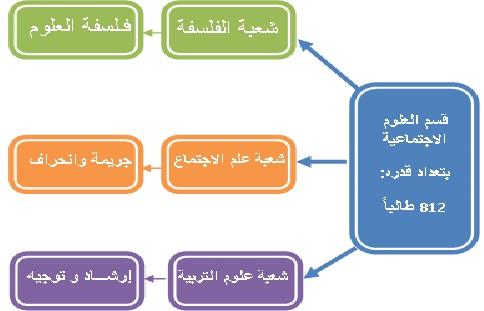 التخصصات التي يوفرها تخصص العلوم الاجتماعية
