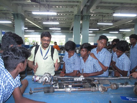 STUDENTS FROM GOVT HIGH SCHOOL, ANJUR VISIT SRMIST