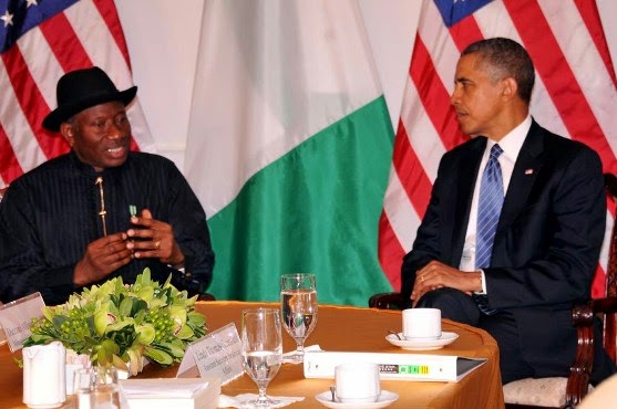 JONATHAN+1 Photos Of President Goodluck Jonathan & Obama in New York