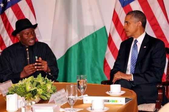 JONATHAN+1 Photos Of President Goodluck Jonathan & Obama in New York