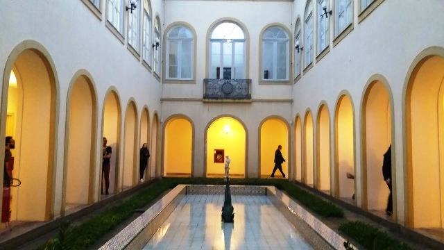 Pátio interno do Palácio