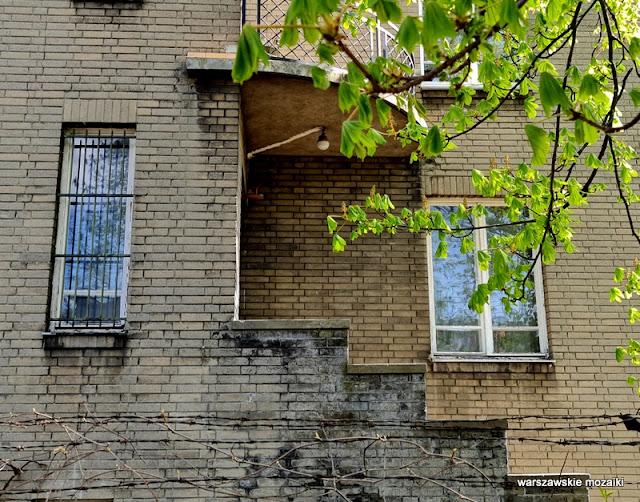 Warszawa Warsaw Stare Włochy 1926 Roman Sobieszek architektura architecture impregnowana cegła cementowa modernizm modernism funkcjonalizm