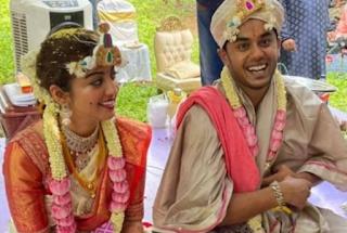 Pranitha Subhash Marriage Photo