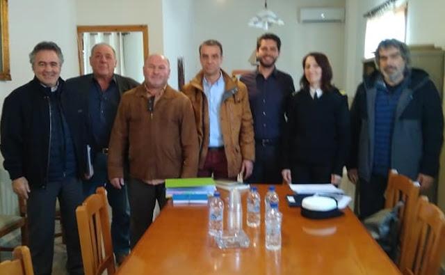 Στην εφαρμογή της χωροθέτησης του Λιμένα Κοιλάδας προχώρησε το τοπικό συμβούλιο