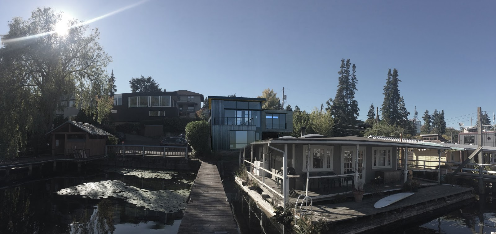 Houseboats In Seattle Karl Schmidt Architecture