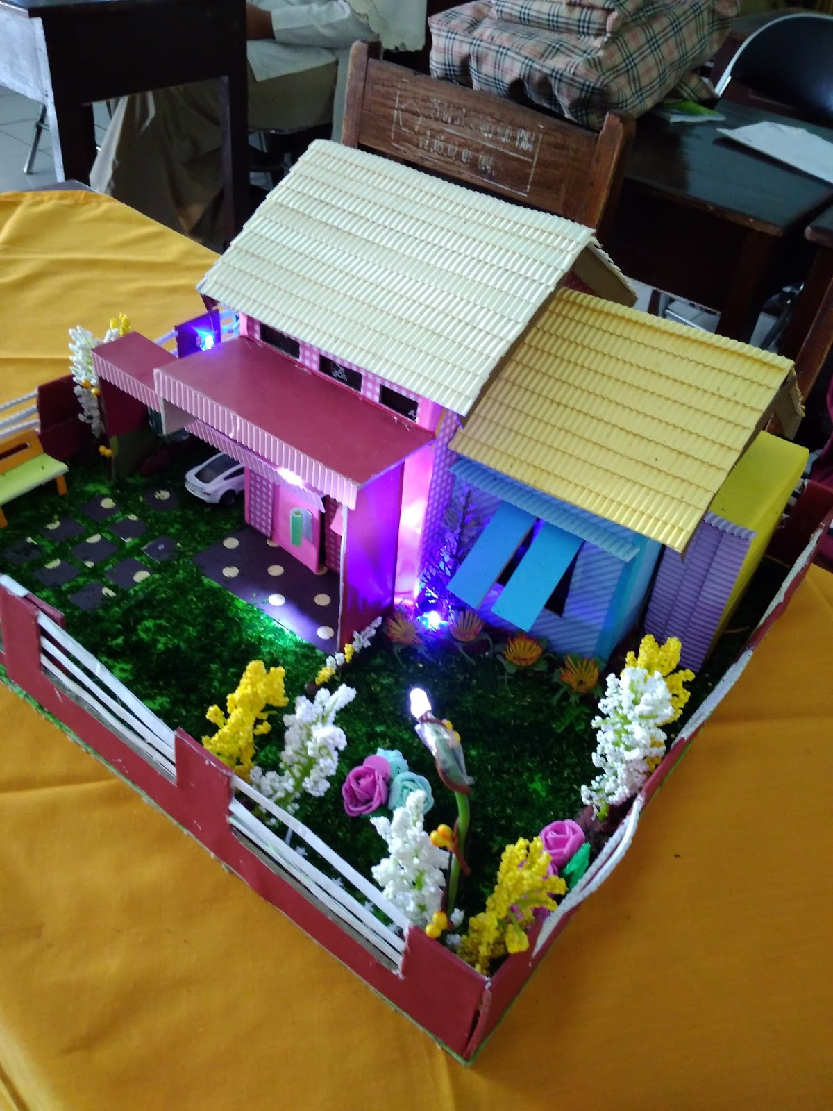 Miniatur Rumah Minimalis Dari Styrofoam : miniatur, rumah, minimalis, styrofoam, Membuat, Miniatur, Rumah, Minimalis, Model