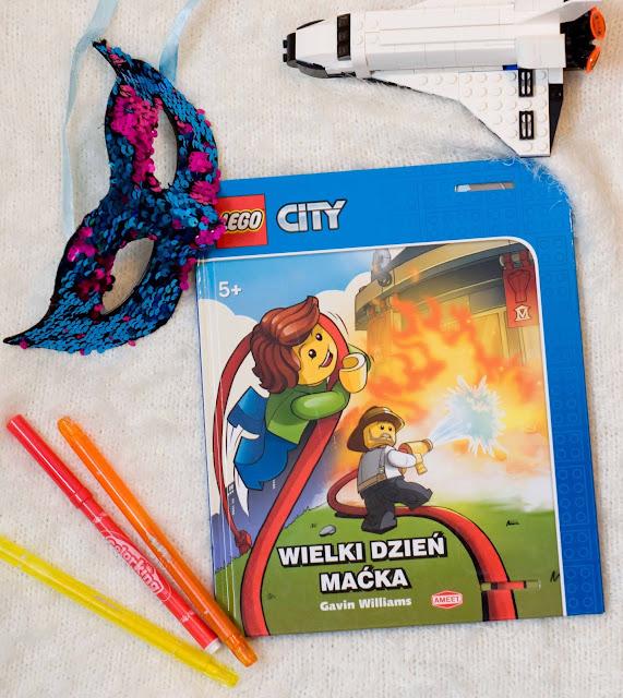 """""""Wielki dzień Maćka"""" Lego City książka dla maluchów"""