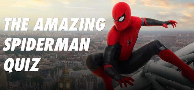 The Amazing Spiderman Quiz