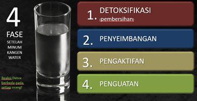efek detoks kangen water