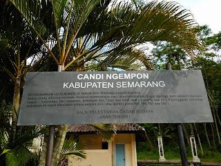 Candi Ngempon terletak di Kecamatan Bergas Kabupaten Semarang