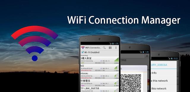 برنامج ادارة شبكات الواي فاي WiFi Connection Manager