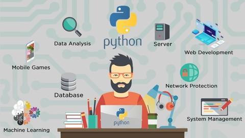 (50+ Saat ) Gerçek Projeler ile Sıfırdan Python Kursu