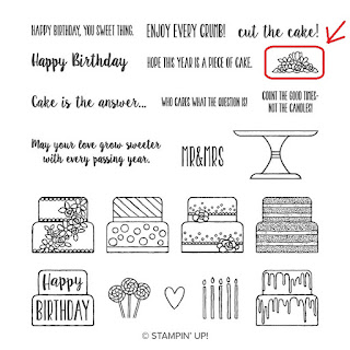 Stampin'UP!'s Piece of Cake Stamp set