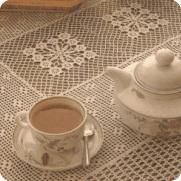 Cubre-Mantel Rectangular a Crochet