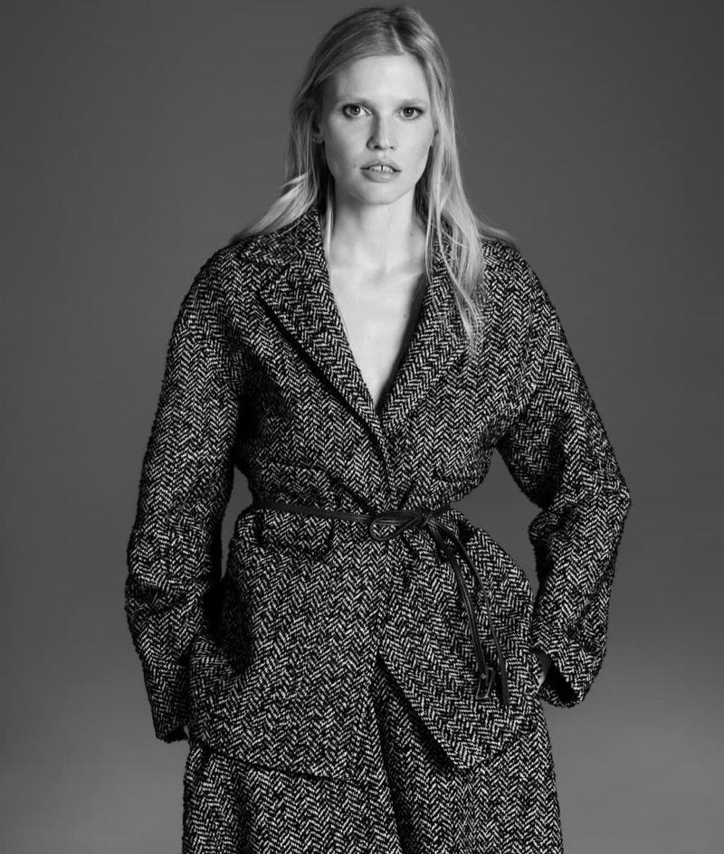 Lara Stone appears in Alessandro Dell'Acqua X Elena Mirò campaign