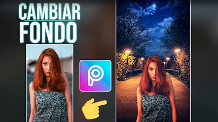 Cambiar el FONDO DE UNA IMAGEN con PicsArt, Fácil y Rápido