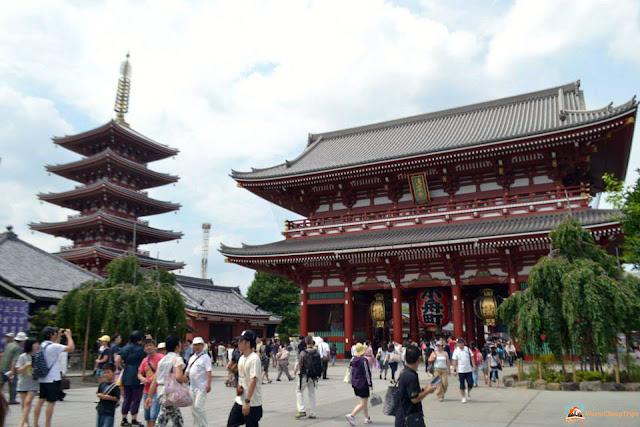 Senso-ji Asakusa Tokyo, Giappone, blog giappone