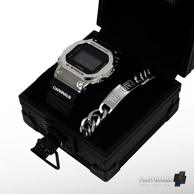 Jam Kolaborasi Carnival x G-Shock GM-5600 Untuk Platform66 Street Culture Fest