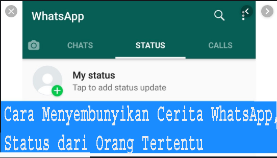 Cara Menyembunyikan Cerita WhatsApp, Status dari Orang Tertentu 1