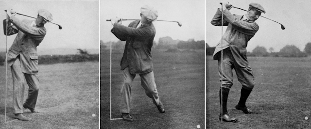 British Open winners James Braid, J.H. Taylor and Harry Vardon