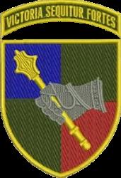 нарукавна емблема Командування СВ ЗСУ