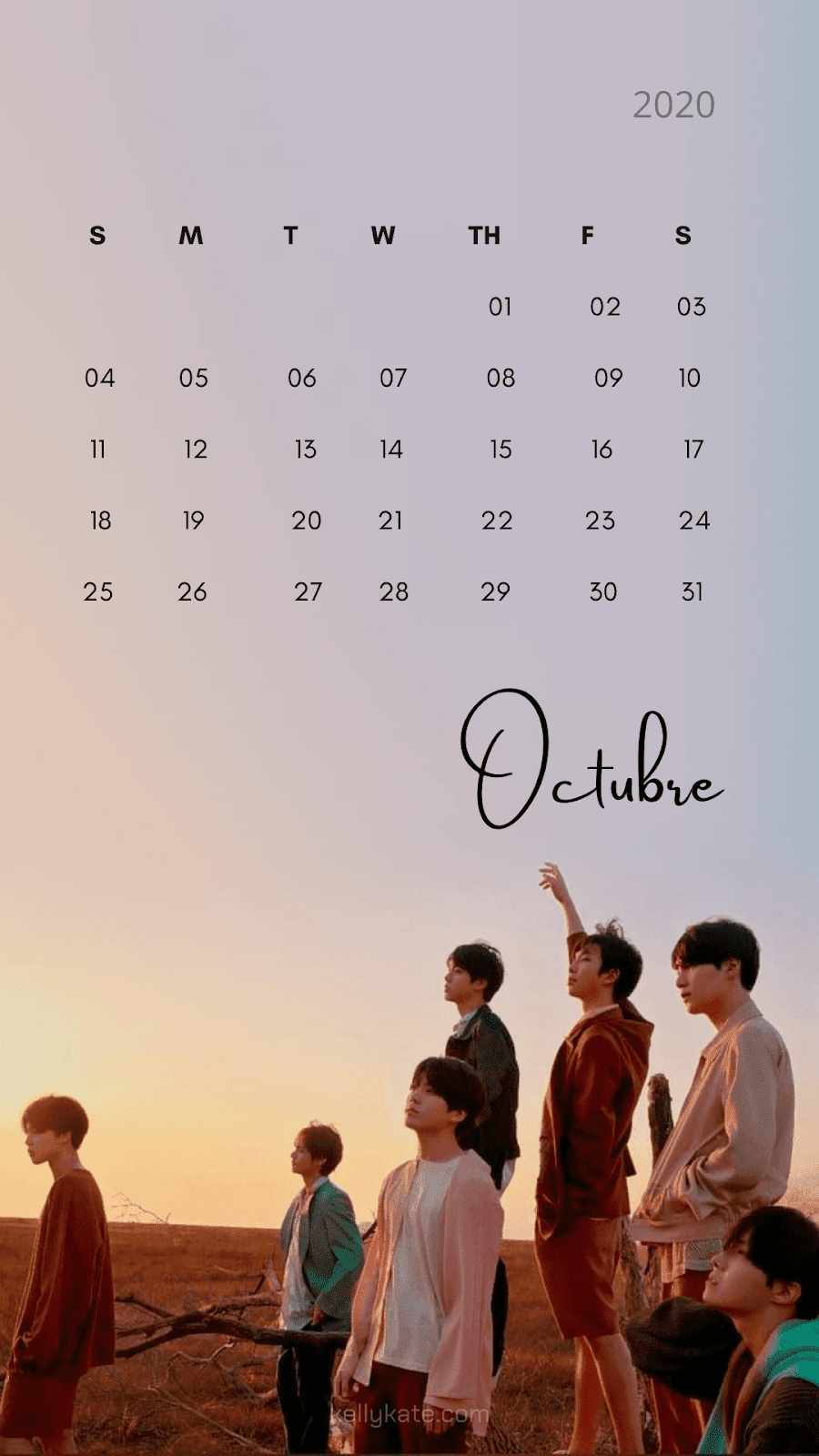 #calendariobts2020 #walpaperbts