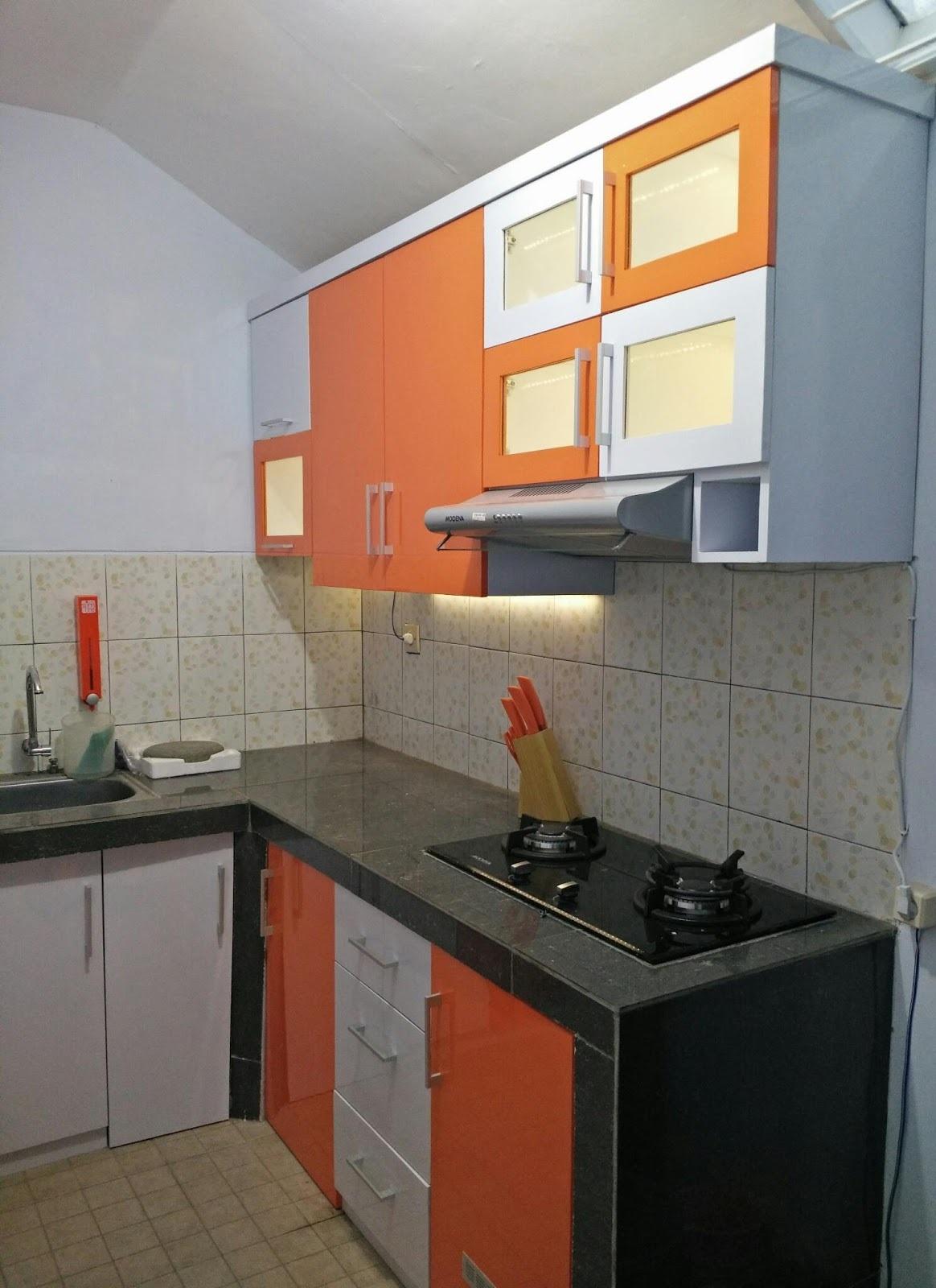 Kitchen set orange sip